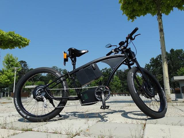 flexibele elektrische fiets