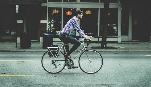 woon werk fiets
