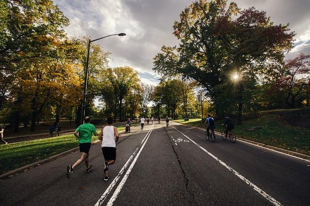 fietsen of hardlopen afvallen