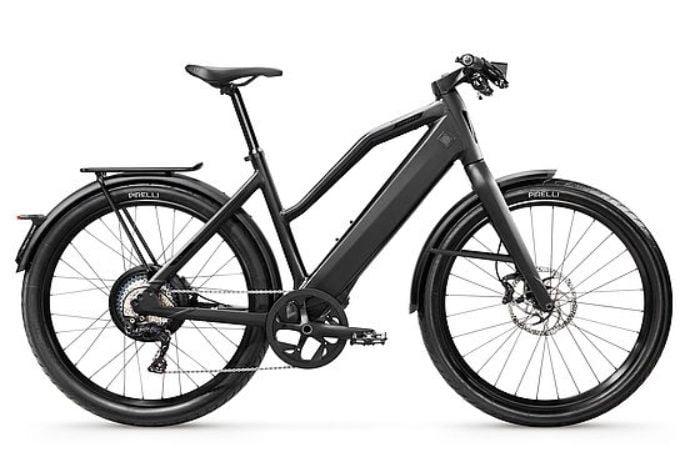 Snelle elektrische fiets