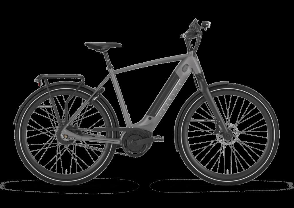 Een woon werkverkeer fiets van Gazelle.