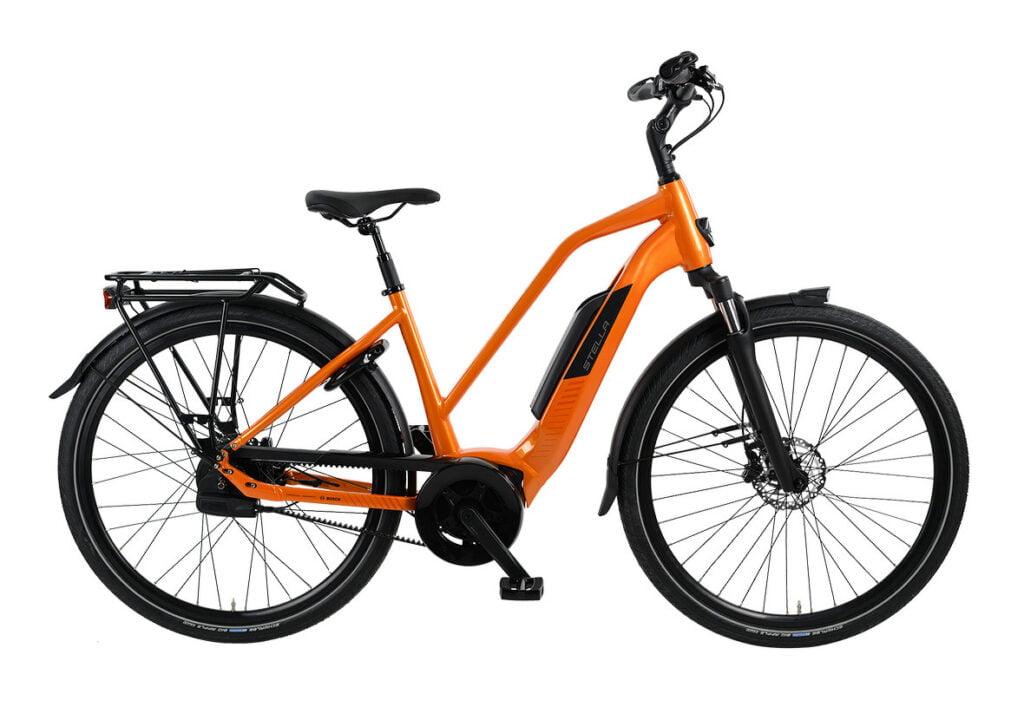 Een fiets voor woon werk verkeer.