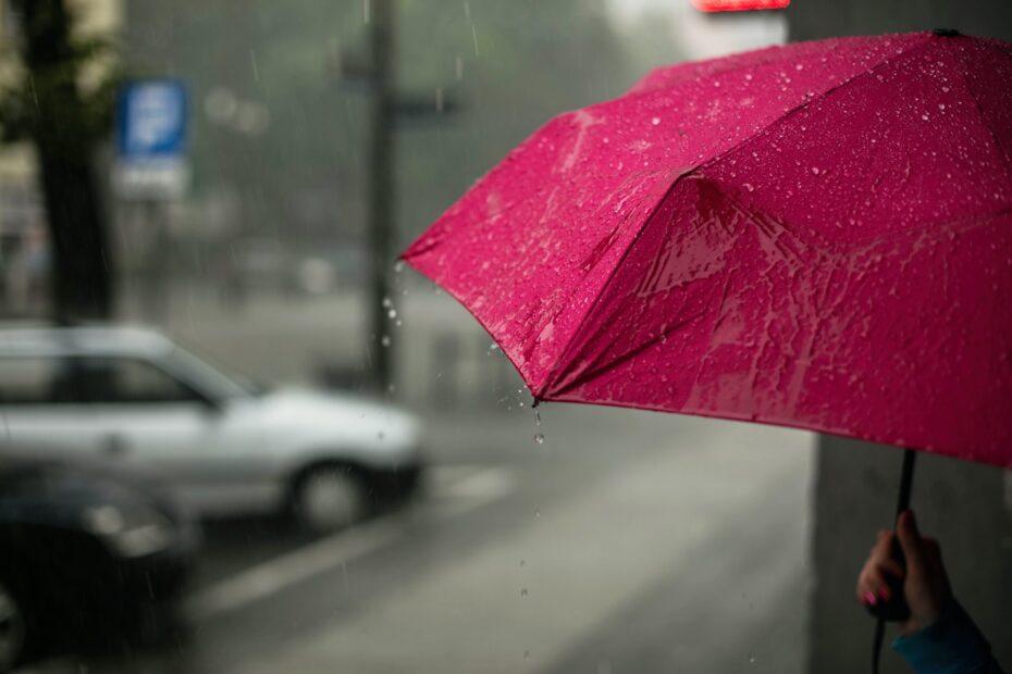Ook op een regenachtige dag kan je gebruik maken van je elektrische fiets.