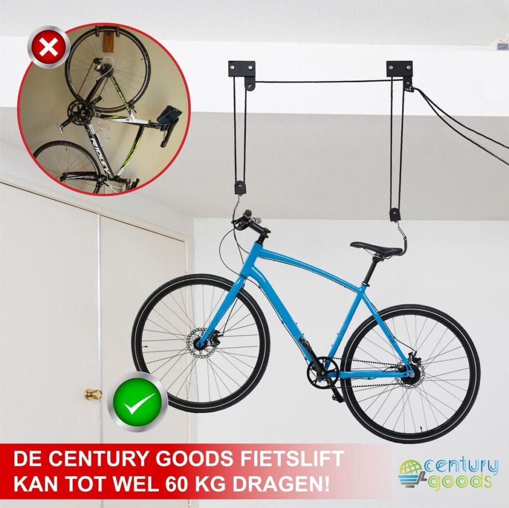 fiets ophangen garage